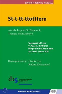 St-t-tt-ttotttern von Deutscher Bundesverband der akademischen Sprachtherapeuten, Iven,  Claudia, Kleissendorf,  Barbara