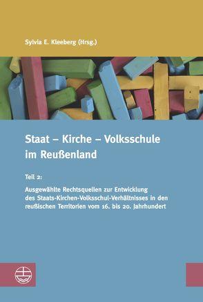 Staat – Kirche – Volksschule im Reußenland von Kleeberg,  Sylvia E.