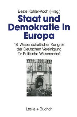 Staat und Demokratie in Europa von Kohler-Koch,  Beate
