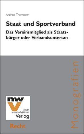 Staat und Sportverband von Thomasser,  Andreas