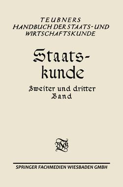 Staats-kunde von Geldmacher,  Erwin