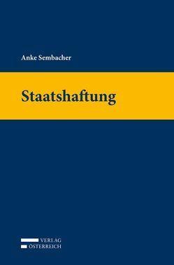 Staatshaftung von Sembacher,  Anke