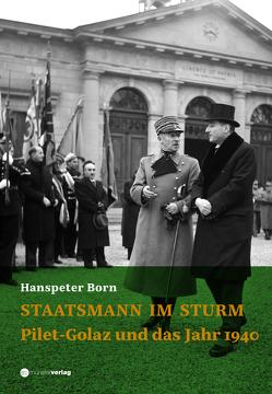 Staatsmann im Sturm von Born,  Hanspeter