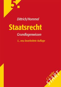 Staatsrecht von Dittrich,  Karl-Heinz, Hommel,  Gudula