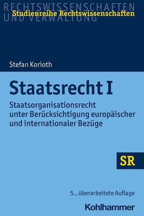 Staatsrecht I von Boecken,  Winfried, Korioth,  Stefan