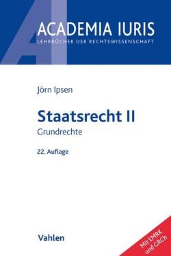 Staatsrecht II von Ipsen,  Jörn