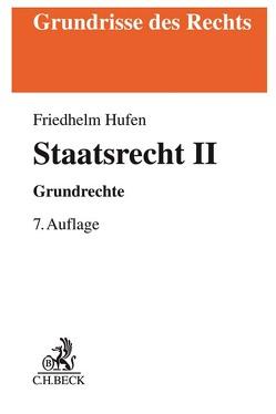Staatsrecht II von Hufen,  Friedhelm