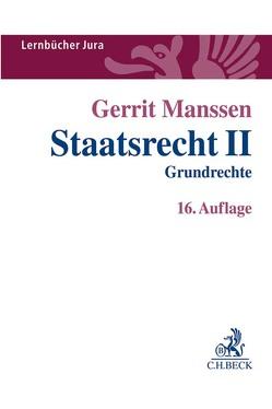 Staatsrecht II von Manssen,  Gerrit