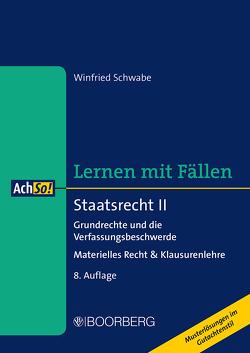 Staatsrecht II von Schwabe,  Winfried