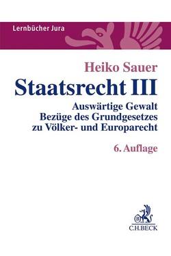 Staatsrecht III von Sauer,  Heiko