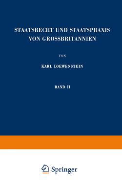 Staatsrecht und Staatspraxis von Grossbritannien von Loewenstein,  Karl