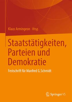 Staatstätigkeiten, Parteien und Demokratie von Armingeon,  Klaus