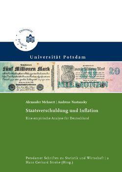 Staatsverschuldung und Inflation von Mehnert,  Alexander, Nastansky,  Andreas