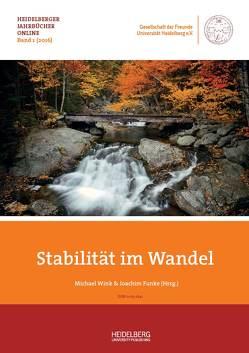 Stabilität im Wandel von Funke,  Joachim, Wink,  Michael