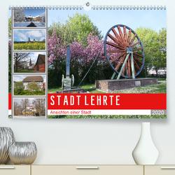 STADT LEHRTE (Premium, hochwertiger DIN A2 Wandkalender 2020, Kunstdruck in Hochglanz) von SchnelleWelten