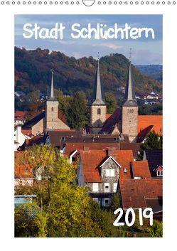 Stadt Schlüchtern (Wandkalender 2019 DIN A3 hoch) von Ehmke,  E.