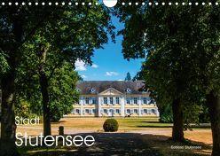 Stadt Stutensee (Wandkalender 2018 DIN A4 quer) von Walliser,  Richard