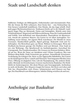 Stadt und Landschaft denken von Baumgarten,  Elias