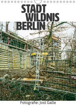 STADT WILDNIS BERLIN (Wandkalender 2019 DIN A4 hoch) von Galle,  Jost
