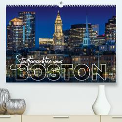 Stadtansichten aus Boston (Premium, hochwertiger DIN A2 Wandkalender 2021, Kunstdruck in Hochglanz) von Viola,  Melanie