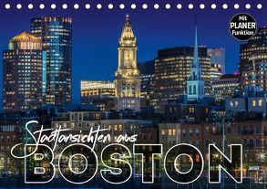 Stadtansichten aus Boston (Tischkalender 2018 DIN A5 quer) von Viola,  Melanie