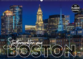 Stadtansichten aus Boston (Wandkalender 2018 DIN A2 quer) von Viola,  Melanie