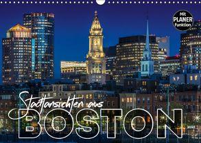 Stadtansichten aus Boston (Wandkalender 2018 DIN A3 quer) von Viola,  Melanie