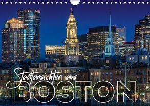 Stadtansichten aus Boston (Wandkalender 2018 DIN A4 quer) von Viola,  Melanie