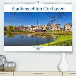 Stadtansichten Cuxhaven (Premium, hochwertiger DIN A2 Wandkalender 2021, Kunstdruck in Hochglanz) von Thiemann / DT-Fotografie,  Detlef