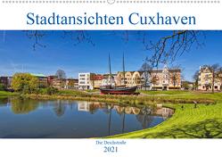 Stadtansichten Cuxhaven (Wandkalender 2021 DIN A2 quer) von Thiemann / DT-Fotografie,  Detlef
