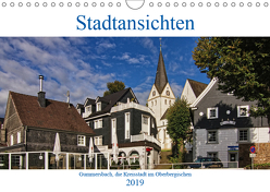 Stadtansichten, Gummersbach (Wandkalender 2019 DIN A4 quer) von Thiemann / DT-Fotografie,  Detlef