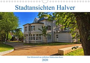 Stadtansichten Halver (Wandkalender 2020 DIN A4 quer) von Thiemann / DT-Fotografie,  Detlef