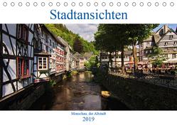 Stadtansichten, Monschau die Altstadt (Tischkalender 2019 DIN A5 quer) von Thiemann / DT-Fotografie,  Detlef