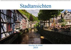 Stadtansichten, Monschau die Altstadt (Wandkalender 2019 DIN A2 quer) von Thiemann / DT-Fotografie,  Detlef