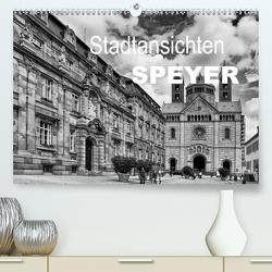 Stadtansichten Speyer (Premium, hochwertiger DIN A2 Wandkalender 2020, Kunstdruck in Hochglanz) von Schwarz,  Nailia