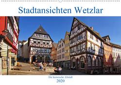 Stadtansichten Wetzlar, die historische Altstadt (Wandkalender 2020 DIN A2 quer) von Thiemann / DT-Fotografie,  Detlef