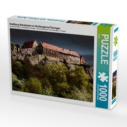 Stadtburg Wendelstein im Wartburgkreis/Thüringen 1000 Teile Puzzle quer von Flori0, k.A.