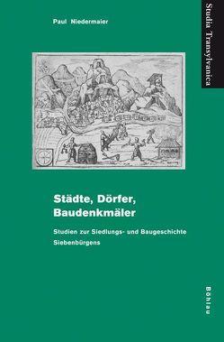 Städte, Dörfer, Baudenkmäler von Niedermaier,  Paul