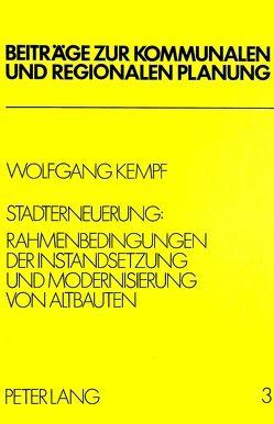 Stadterneuerung von Kempf,  Wolfgang