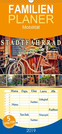 Stadtfahrrad – Familienplaner hoch (Wandkalender 2019 , 21 cm x 45 cm, hoch) von Roder,  Peter