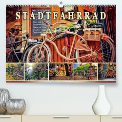 Stadtfahrrad (Premium, hochwertiger DIN A2 Wandkalender 2020, Kunstdruck in Hochglanz) von Roder,  Peter