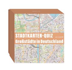 Stadtkarten-Quiz Großstädte in Deutschland von Wilkes,  Johannes
