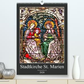 Stadtkirche St.Marien Gengenbach (Premium, hochwertiger DIN A2 Wandkalender 2020, Kunstdruck in Hochglanz) von Schmidt,  Bodo