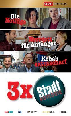 Stadtkomödien-Set 1: Die Notlüge / Herrgott für Anfänger / Kebab extrascharf von Bigler,  Sascha, Kreutzer,  Marie, Murnberger,  Wolfgang