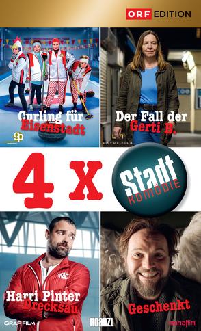 Stadtkomödien-Set 2: Curling für Eisenstadt/Der Fall der Gerti B./Harri Pinter Drecksau/Geschenkt von Bigler,  Sascha, Prochaska,  Daniel, Schmied,  Andreas
