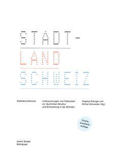 Stadtland Schweiz von Eisinger,  Angelus, Schneider,  Michel