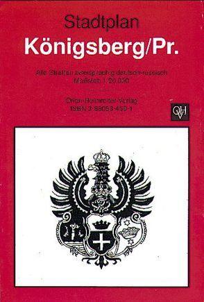 Stadtplan Königsberg/Pr.