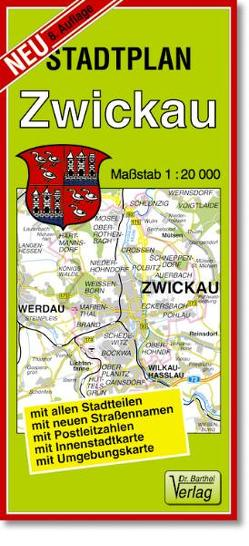 Stadtplan Zwickau und Werdau