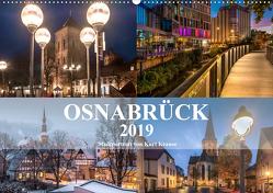 Stadtportrait Osnabrück (Wandkalender 2019 DIN A2 quer) von Krause,  Kurt
