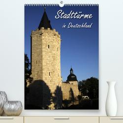 Stadttürme in Deutschland (Premium, hochwertiger DIN A2 Wandkalender 2020, Kunstdruck in Hochglanz) von Berg,  Martina